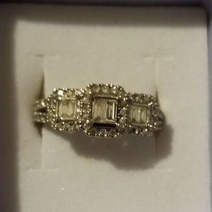 White Gold 14k Diamond Ring